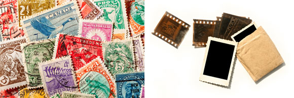 benefits for film and stamp collections